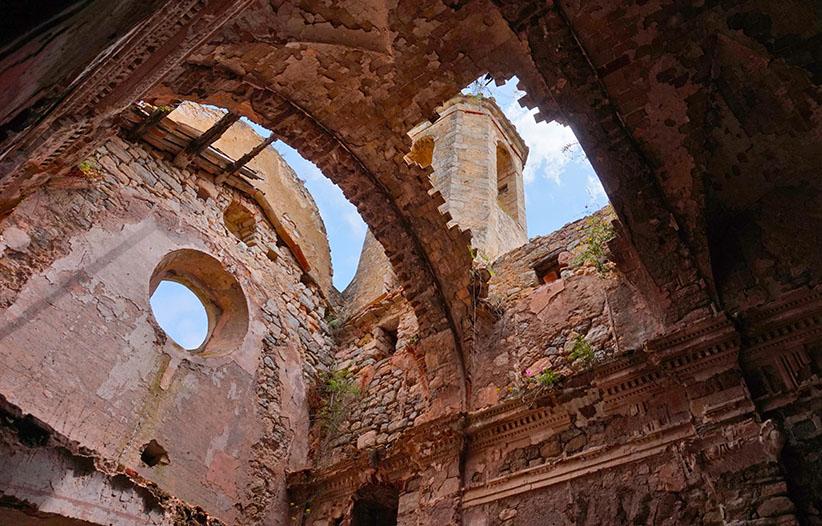 Església enrunada de Santa Perpètua de Gaià.