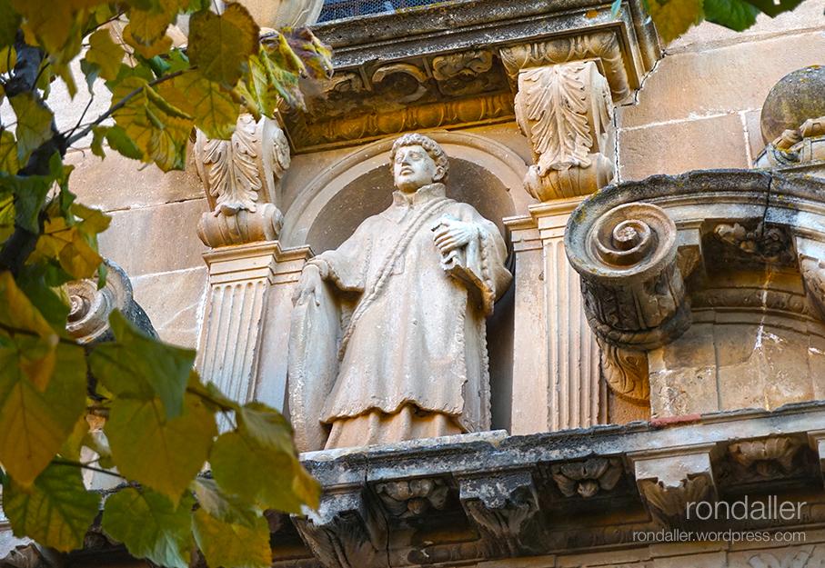 Escultura de Sant Feliu. Alella