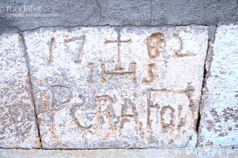inscripció. Olesa de Montserrat. Baix Llobregat