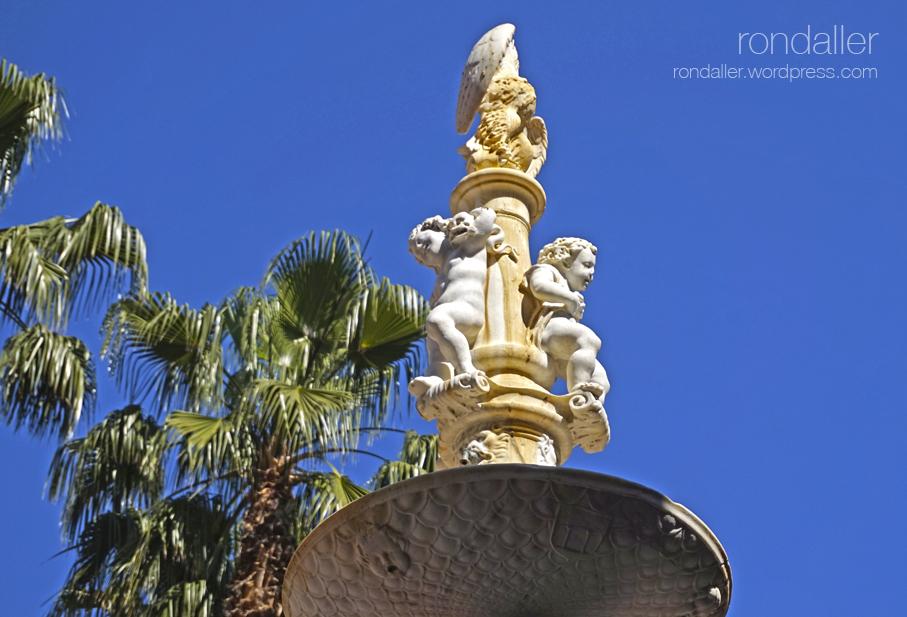 Font de Génova a la plaça Constitución de Màlaga.