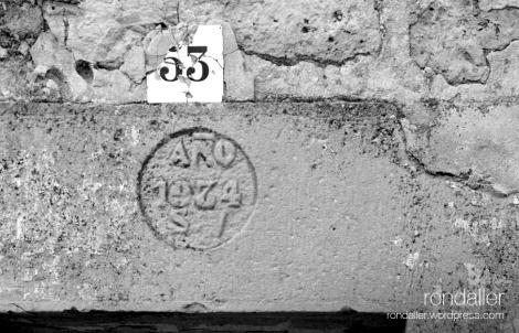 Corbera d'Ebre, Terra Alta, ruïnes, dentell