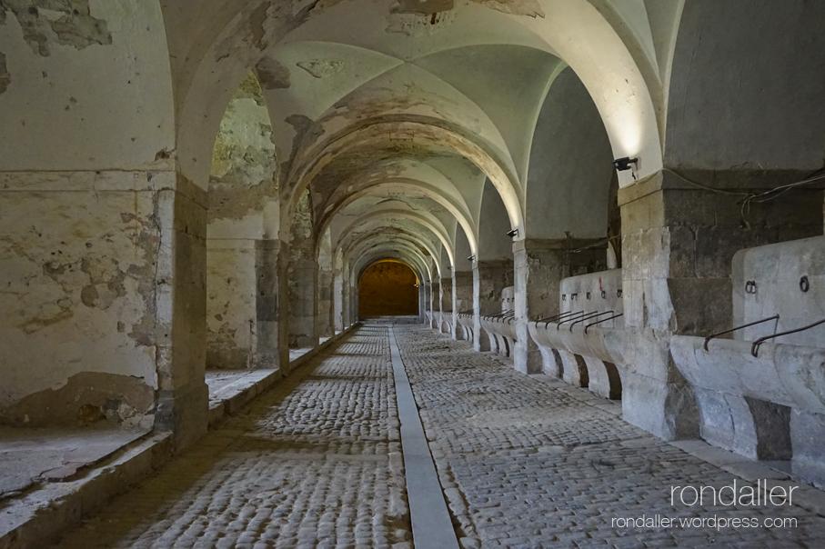 Cavallerisses del Castell de Sant Ferran de Figueres, Alt Empordà.