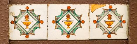rajola, llàntia, barroc, Argentona, ceràmica, Maresme,